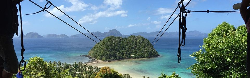 Zip Line, El Nido, Palawan, Philippines
