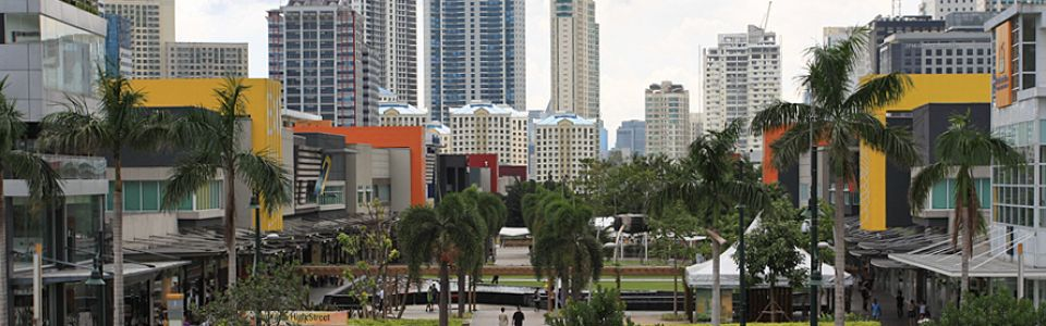 Bonifacio High Street Central Retail, Entertainment Hub, Philippines