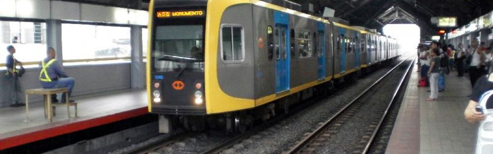 Blumentritt Station of the Manila Light Rail Transit System Line 1
