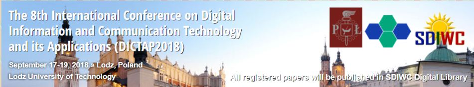 The 8th International Conference on Digital Information and Communication Technology and its Applications