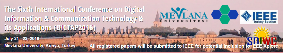The Sixth International Conference on Digital Information & Communication Technology & its Applications (DICTAP2016)