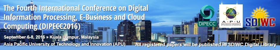 The Fourth International Conference on Digital Information Processing, E-Business and Cloud Computing
