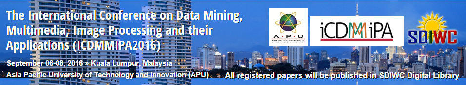 The Second International Conference on Data Mining, Multimedia, Image Processing and their Applications