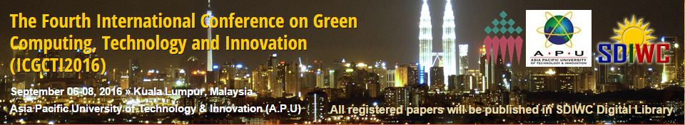 The Fourth International Conference on Green Computing, Technology and Innovation