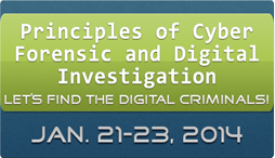 Principles of Cyber Forensic and Digital Investigation