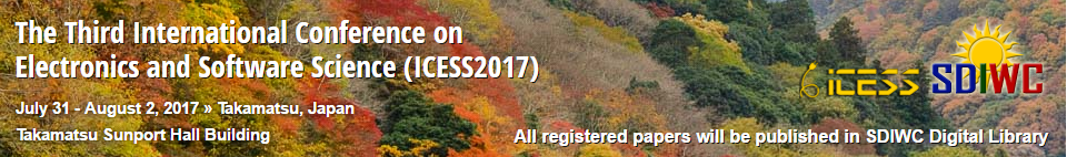 The Third International Conference on Electronics and Software Science